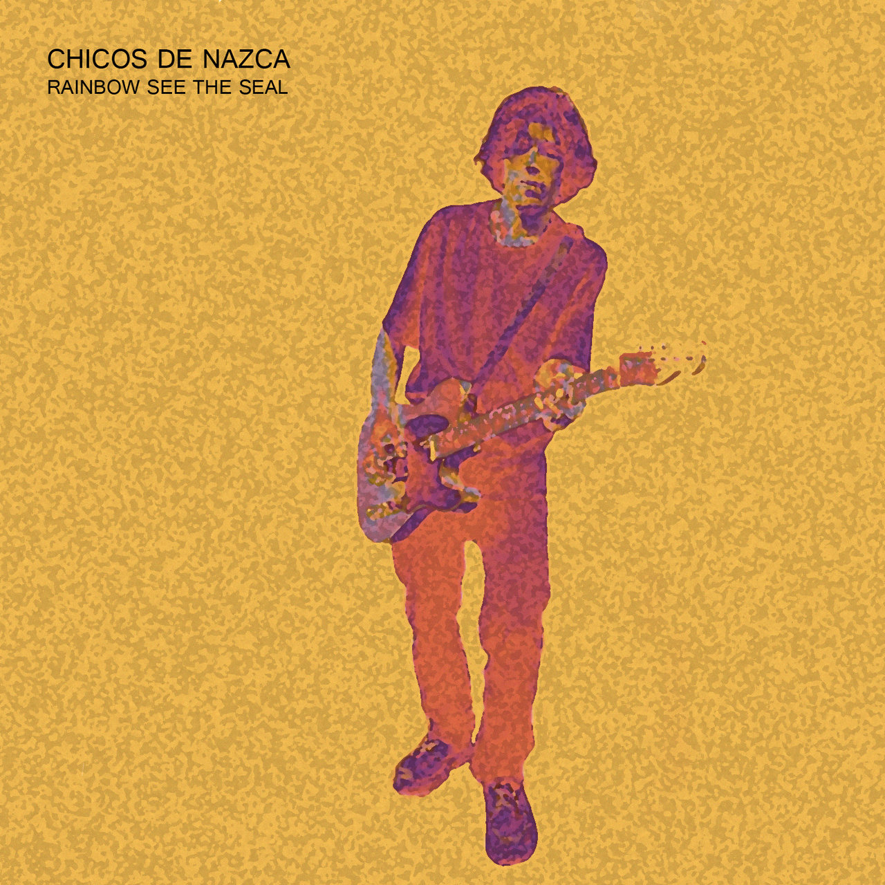 Chicos de nazca rainbow see the seal portada
