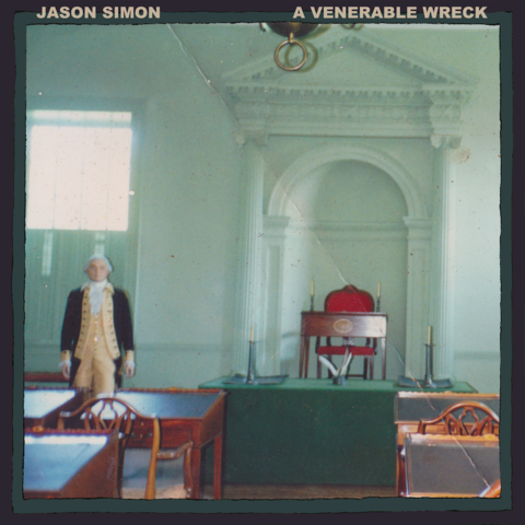 Jason simon   a venerable wreck   front